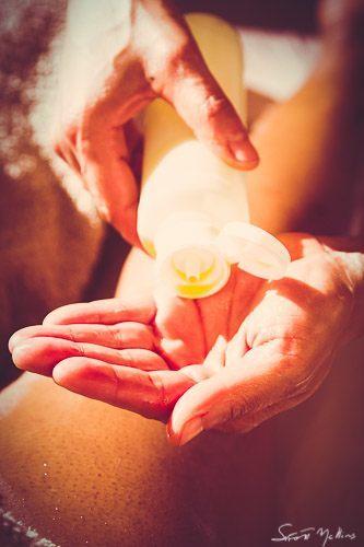 massage calif/sud : huile
